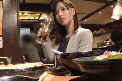 新宿で見つけた縁起良き名前の美女「れいわ」さん♪酒で酔わせてホテルに連…
