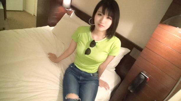 【初撮り】【桃色Fカップ】【ウェイ系DJ】笑った顔が幼い高身長のクラブDJ。「遊んでない!」と言う彼女はベッドの上でウソがバレる。