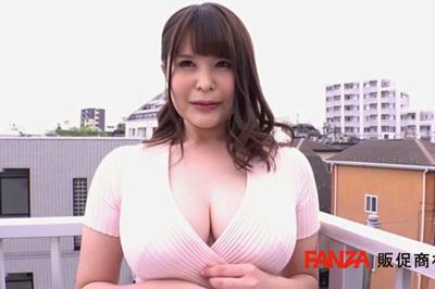 完璧な美形乳!秋田が生んだ究極の釣鐘型Hカップ!神乳若妻 美雲あい梨 AV…